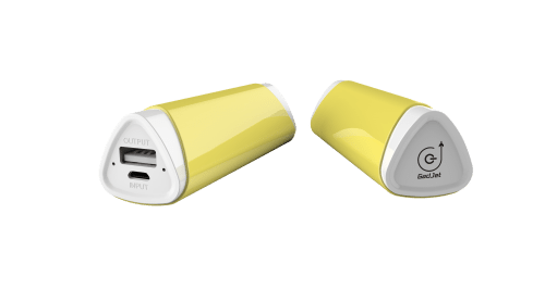 Gadjet Yellow Universal Portable Battery