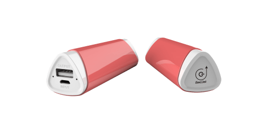Gadjet Pink Universal Portable Battery