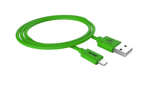 Gadjet iPhone 6 USB Cable Green 8 Pin Lightning