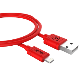 Gadjet iPhone 6 USB Cable Red 8 Pin Lightning