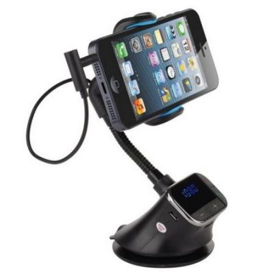 FM Transmitter Holder with Phone