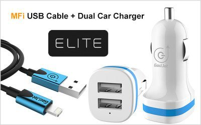 Coming Soon: Gadjet Apple Certified Elite Cables and New Dual Car Chargers!